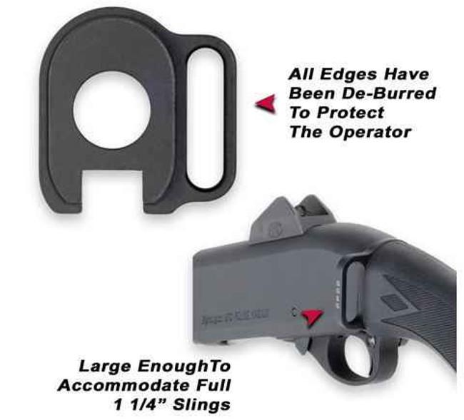 GGandG Remington 870 Single Point Sling Attachment - Left 1129L 813157000515