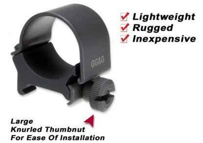 GGandG One Flashlight Mounting Ring 1195 813157000713