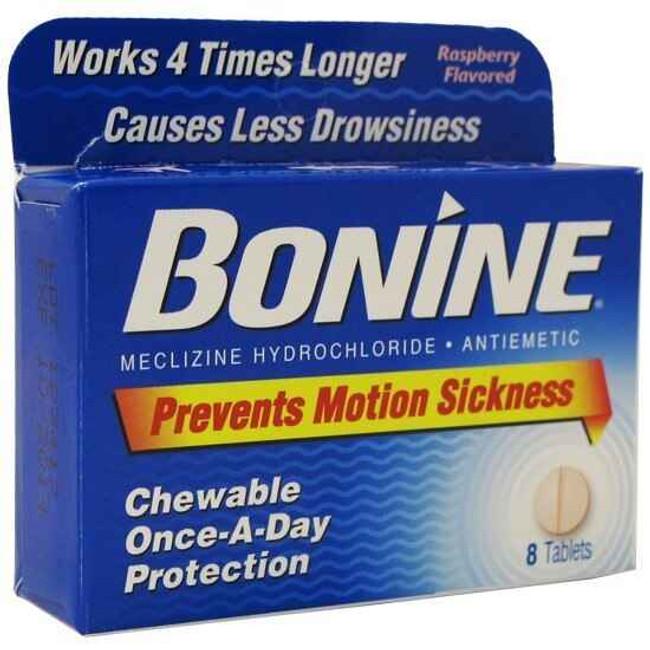 Adventure Medical Kits Bonine Chewable, Pkg 8 5010-0187 365197275083