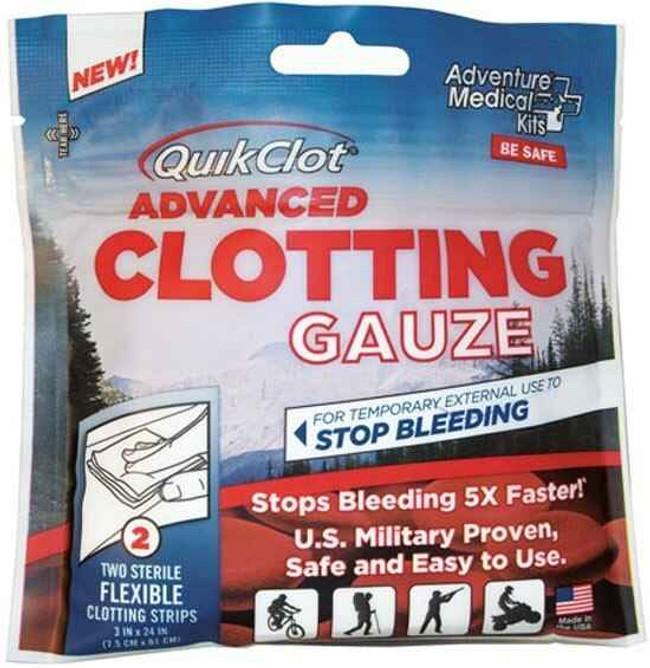 Adventure Medical Kits QuikClot Gauze 3 x 24 5020-0016 044224001115