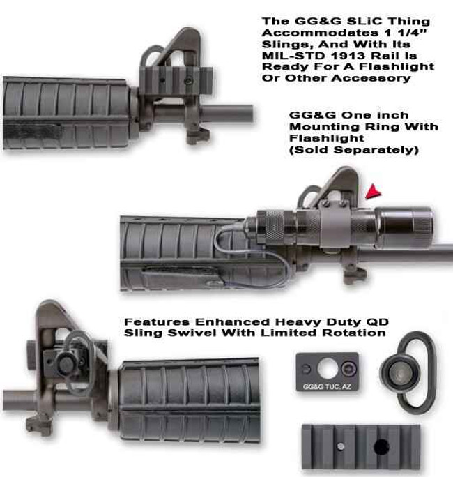 GGandG QD SLiC Thing Sling and Light Combo Mount 1228-GG 813157000874