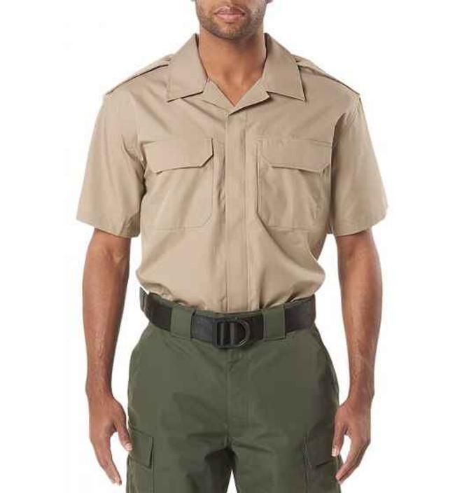 5.11 Tactical Mens CDCR Line Duty Short Sleeve Shirt 71041US - Closeout 71041US