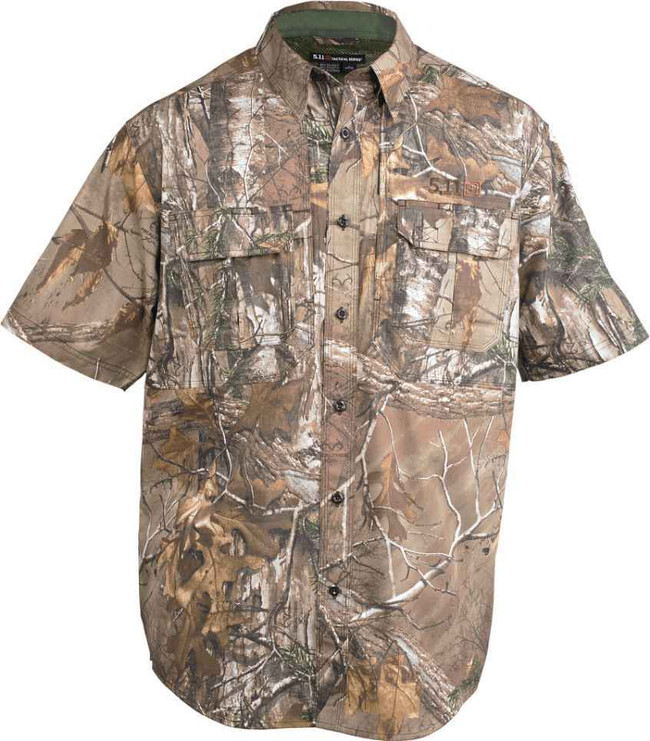 5.11 Tactical Realtree Camo Taclite S/S Shirt 71337