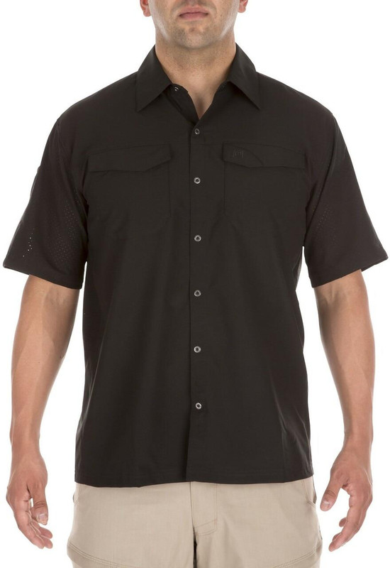 5.11 Tactical Freedom Flex Short Sleeve Shirt - Black