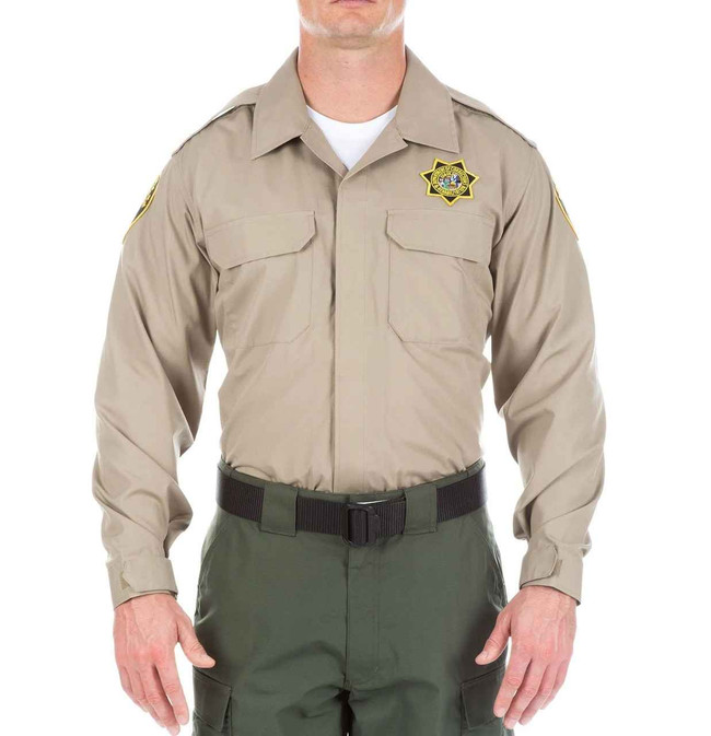 5.11 Tactical Mens CDCR Line Duty Long Sleeve Shirt 72082US - Closeout 72082US