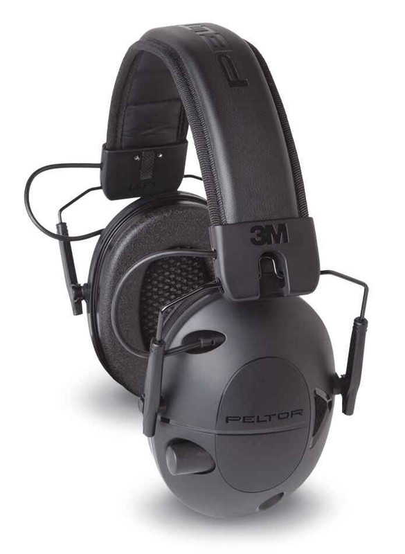 Peltor Tactical 100 Over the Head Electronic Earmuffs TAC100-OTH 051141394237