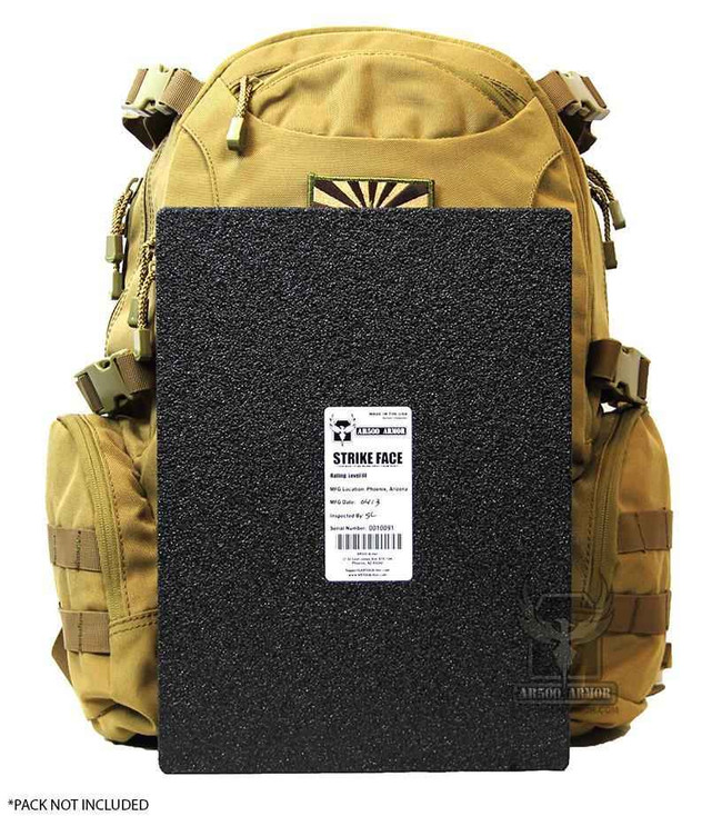 AR500 Level III BackPack Armor - 9.5 x 13 PAK