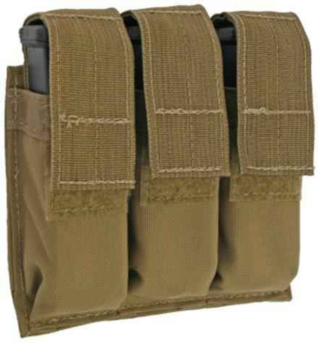 Tactical Tailor Triple Pistol Mag Pouch 10011-TA