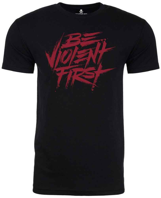 Pipe Hitters Union Be Violent First T-Shirt PT108MB