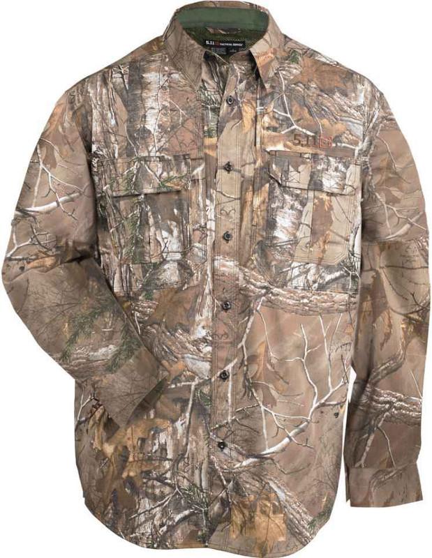 5.11 Tactical Realtree Camo Taclite L/S Shirt 72408