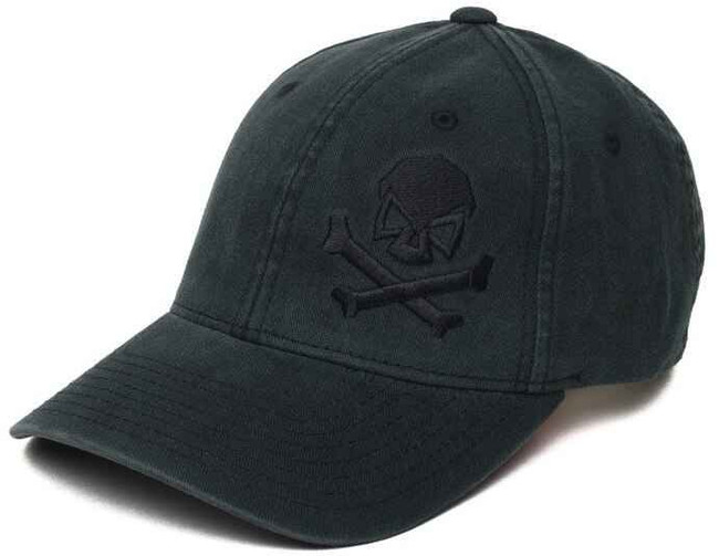 Pipe Hitters Union Skull and Crossbones Flexfit Hat PC501