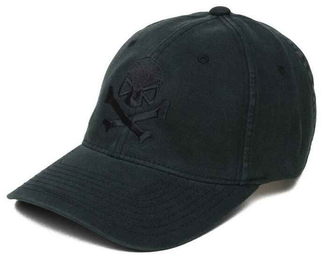 Pipe Hitters Union Stealth Skull and Crossbones Flex Fit Hat PC500B