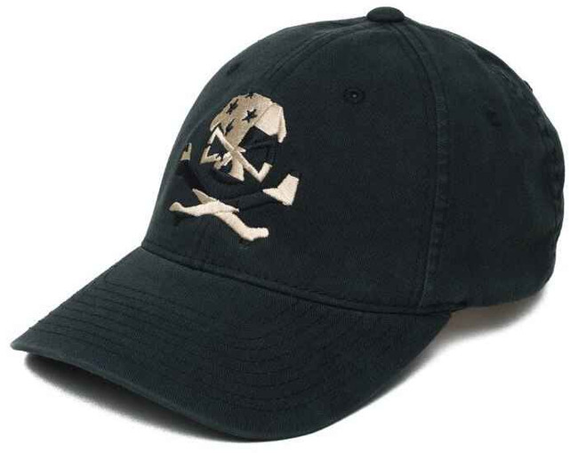 Pipe Hitters Union Subdued Skull Flag FlexFit Hat PC512