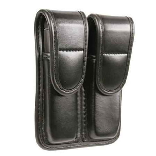 Blackhawk Plain Finish Double Mag Pouch - Single Column LE-44A000PL 648018142390