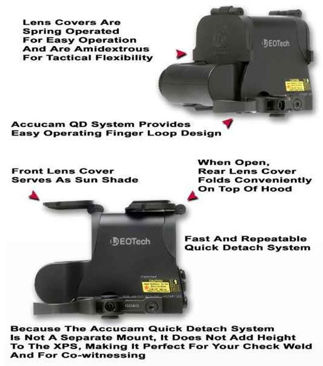 GGandG EOTech Lens Cover for XPS Series 1272 813157001888