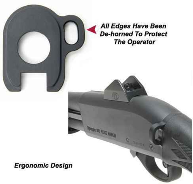 GGandG Remington 870 Single Point Sling Attachment for HK Style Snap Hooks 1283 813157001147