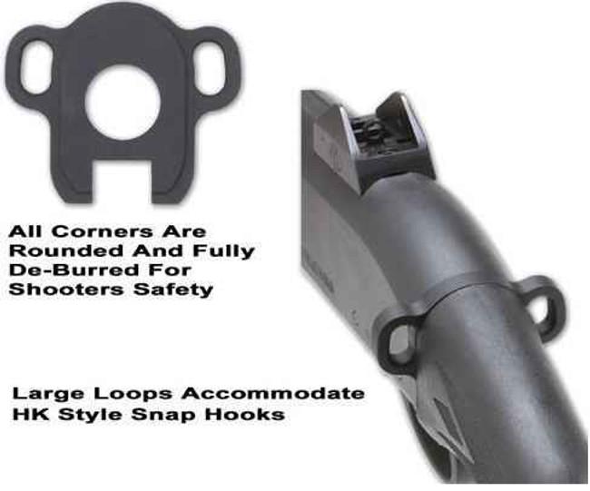 GGandG Remington 870 Looped Ambi Single Point Sling Attachment 1380 813157002205