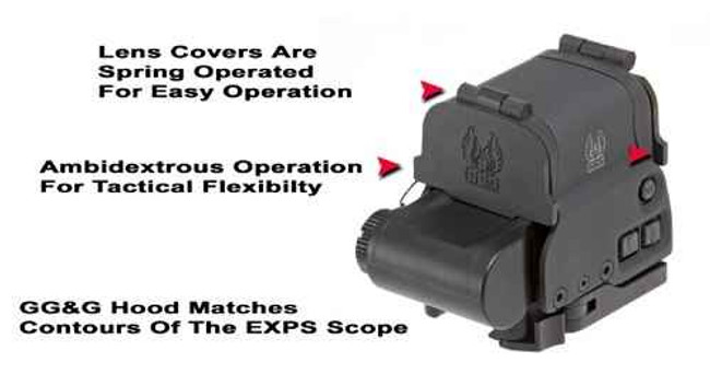 GGandG Hood and Lens Cover for EOTech EXPS 2-0 2-2 1424 813157003646