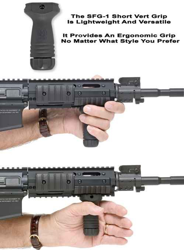 GGandG SFG-1 Short Vertical Grip 1543 813157004704