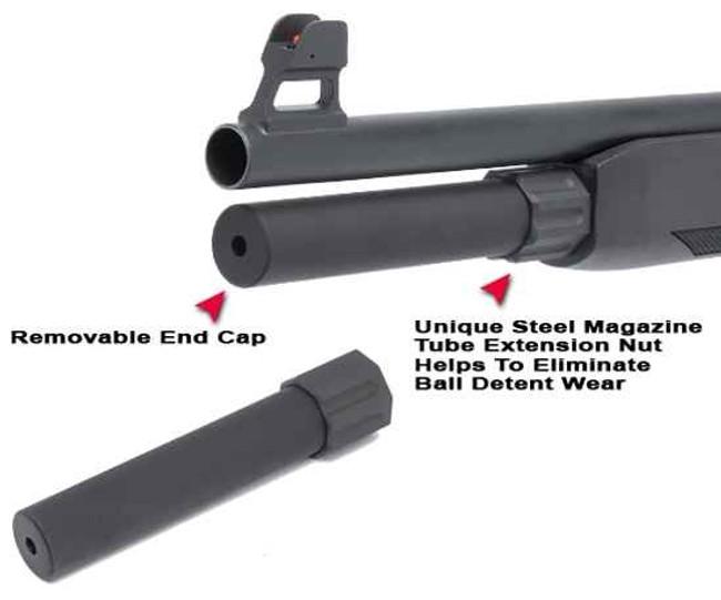 GGandG Mossberg 930 2-Shot Magazine Extension Tube 1626 813157005602