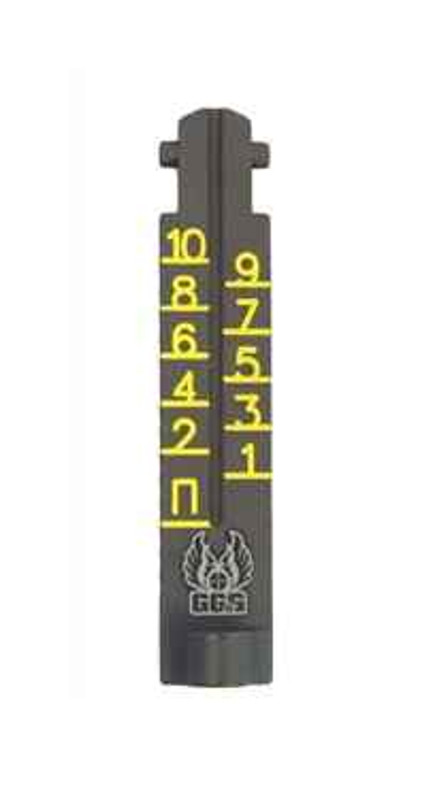 GGandG AK-47 1000 Meter Ghost Ring Replacement Sight - Yellow 1984 813157008146