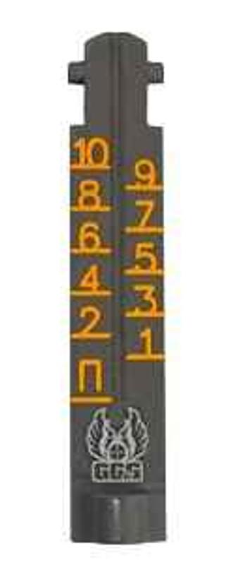 GGandG AK-47 1000 Meter Ghost Ring Replacement Sight - Orange 1985 813157008153