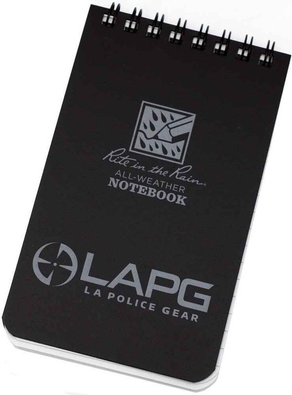 LA Police Gear Rite in the Rain Notebook Promo LAPG-RITE-NOTEBOOK