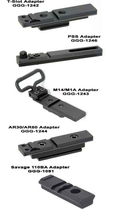 GGandG Bipod Adapters BIPODADAPTER