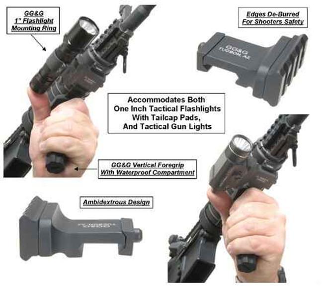 GGandG Offset Tactical Flashlight Mount 1131 813157000546