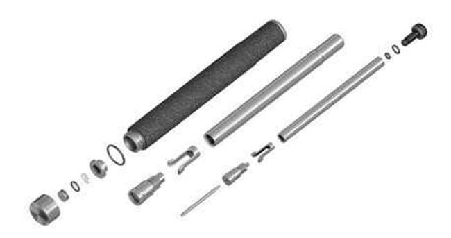 ASP Products LeverLoc Baton Duratec or Foam Grip Chrome Finish LEVERLOCCHROME