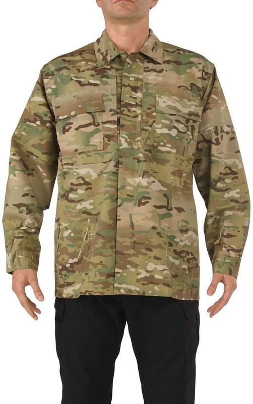 5.11 Tactical Mens Multicam TDU Long Sleeve Shirt 72013 72013