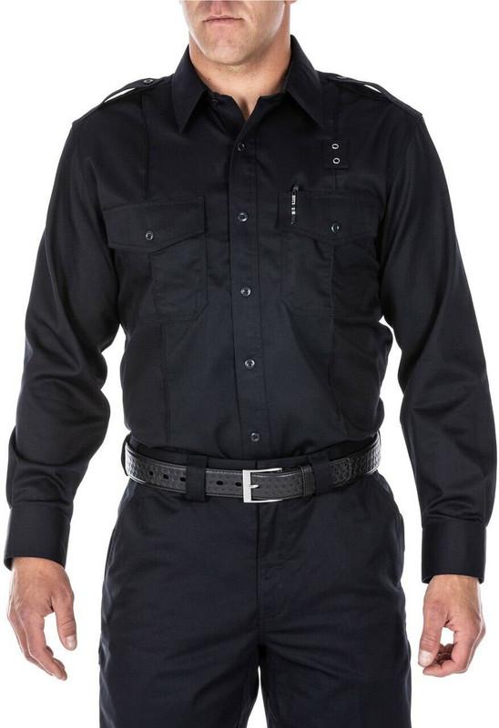 5.11 Tactical Mens Twill PDU Class A Long Sleeve Shirt 72344 72344