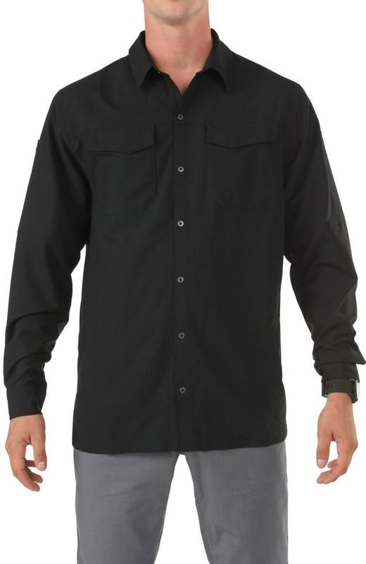 5.11 Tactical Freedom Flex Long Sleeve Shirt - Black