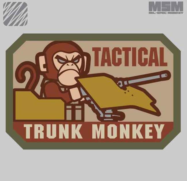 Mil-Spec Monkey Tactical Trunk Monkey Patch TRUNKMONKEY