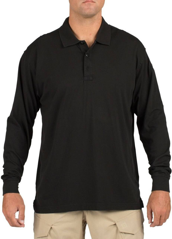 5.11 Tactical Mens Tactical Jersey Long Sleeve Polo Shirt 72360 72360