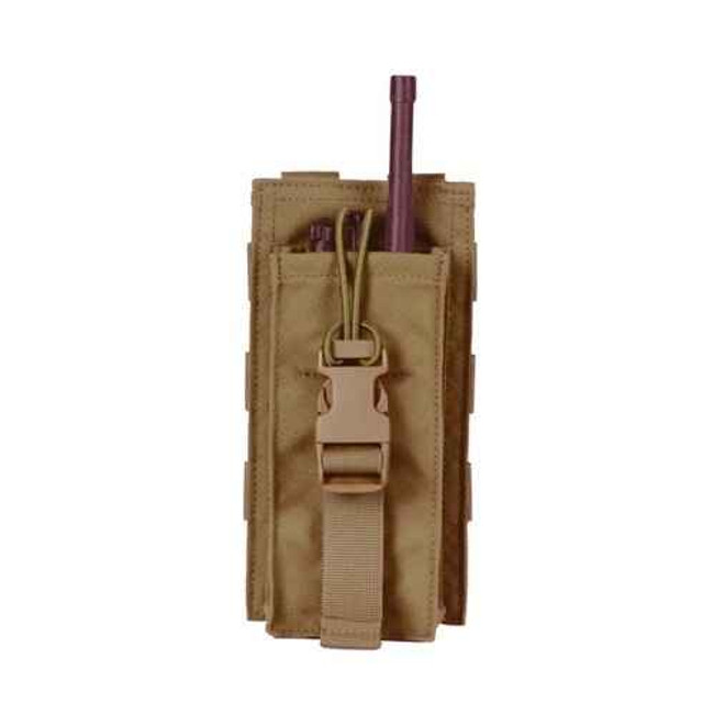 Protech Tactical Universal Radio Pouch with Bungee Closure TP21A