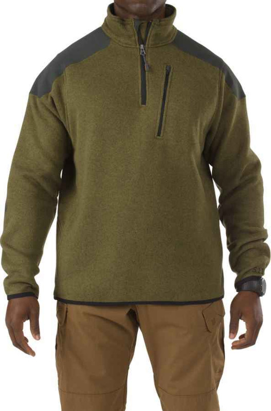 5.11 Tactical 1/4 Zip Sweater Fleece Jacket 72405 - Closeout 72405