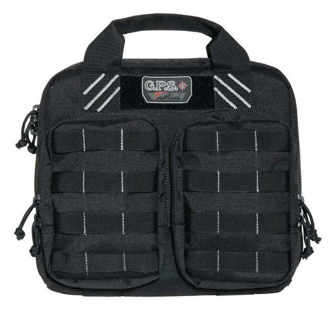 G-Outdoors GPS Tactical Double 2 Pistol Case DOUBLECASE
