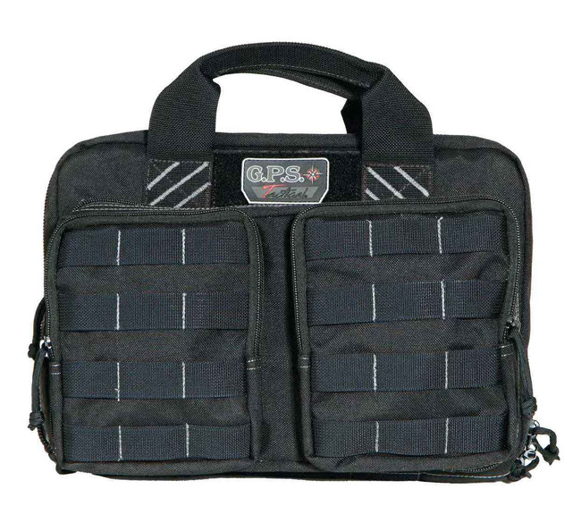 G-Outdoors GPS Tactical Quad 2 Pistol Case QUADCASE
