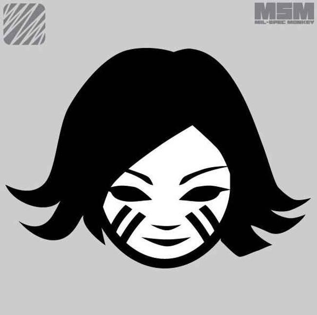 Mil-Spec Monkey Battle Girl Patch BATTLEGIRL