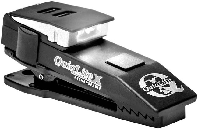 QuiqLite X USB Rechargeable LED Pocket Light X