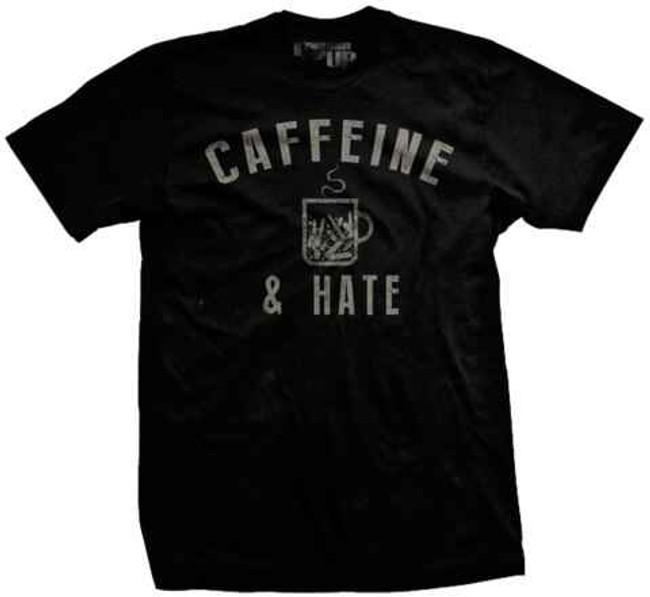 Ranger Up Bullets Caffeine and Hate Vintage Shirt RU997
