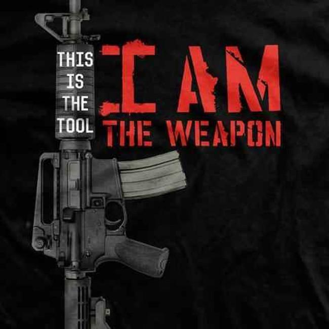 Ranger Up I Am the Weapon Shirt SD004-RU