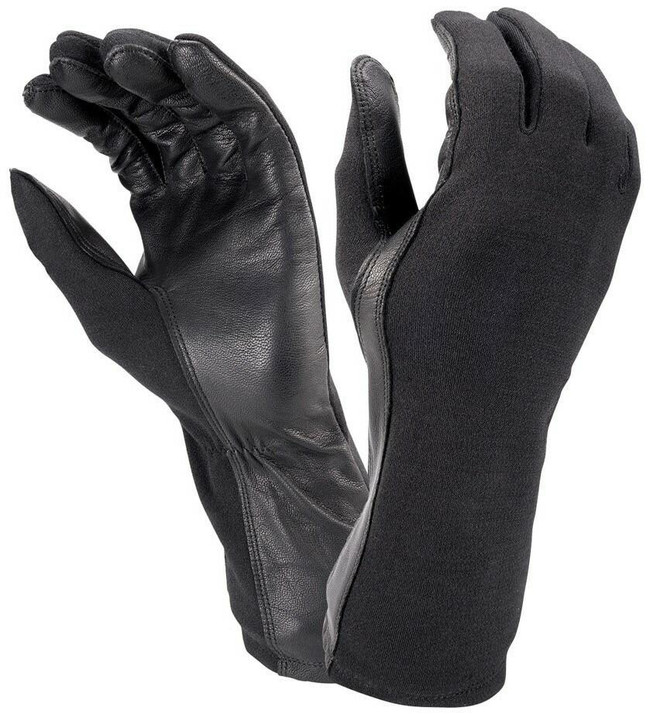 Hatch Black Flight Gloves with Nomex BNG190