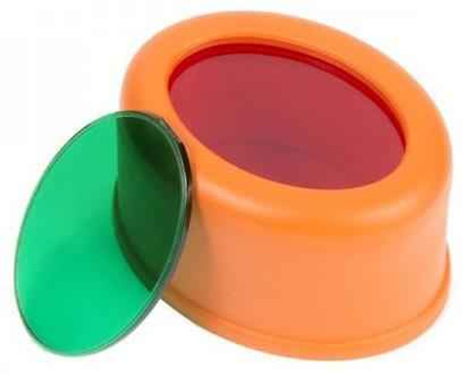 Nightstick Red and Green Attachable Filters for NSP-1100/1200 Slim-Line Flashlights 1200-FILTER