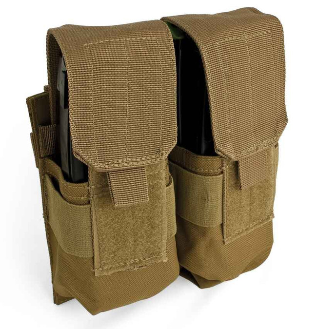 Red Rock Outdoor Gear MOLLE Double Rifle Mag Pouch Coyote