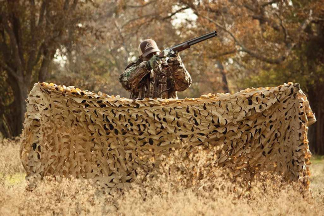Red Rock Outdoor Gear Hunting Series Camo Netting Desert