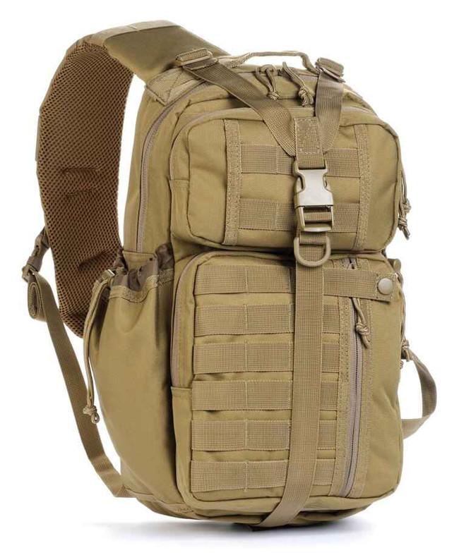 Red Rock Outdoor Gear Rambler Sling Backpack 80201-RE Coyote