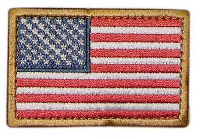 Condor USA Flag Hook and Loop Patch 230-TG
