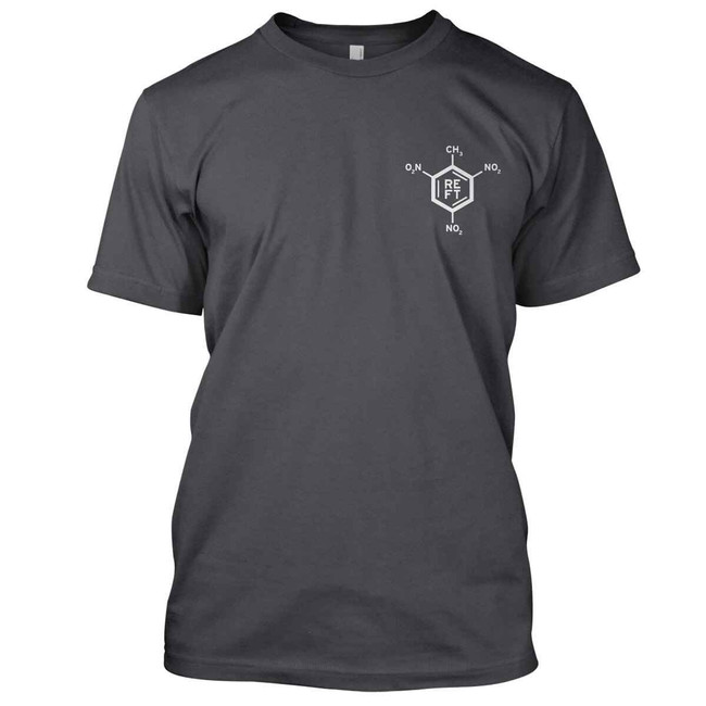 RE Factor Tactical Periodic Table of Explosives T- Shirt SEX